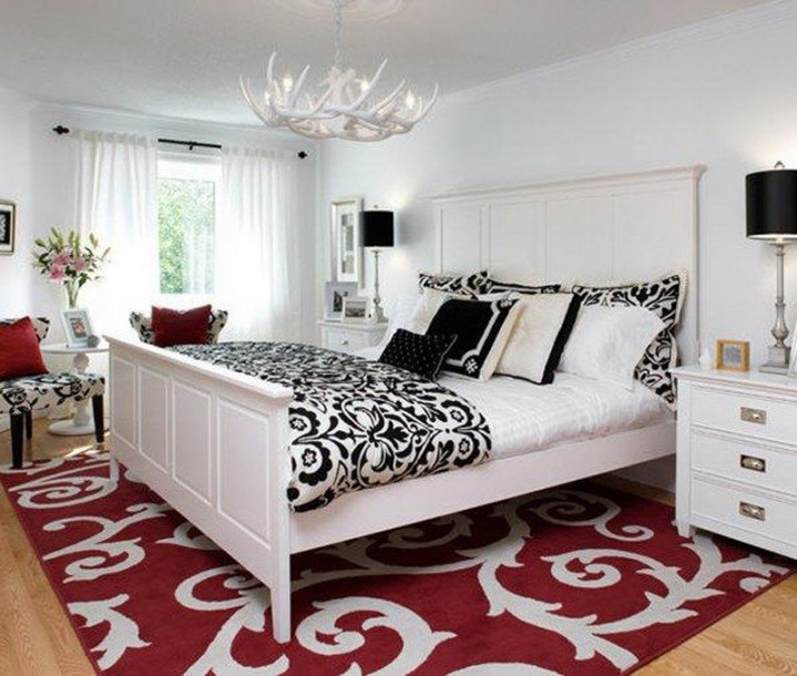 Samples For Black White And Red Bedroom Decorating Ideas Inspiring Black White And Silver Bedroom Ideas