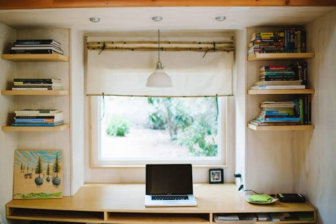 Tiny Home Office Lighting