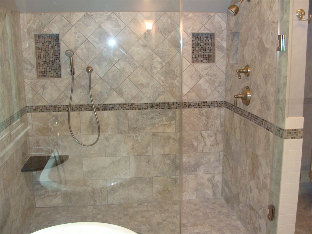 bathroom cute picture of awesome shower wall tile designs