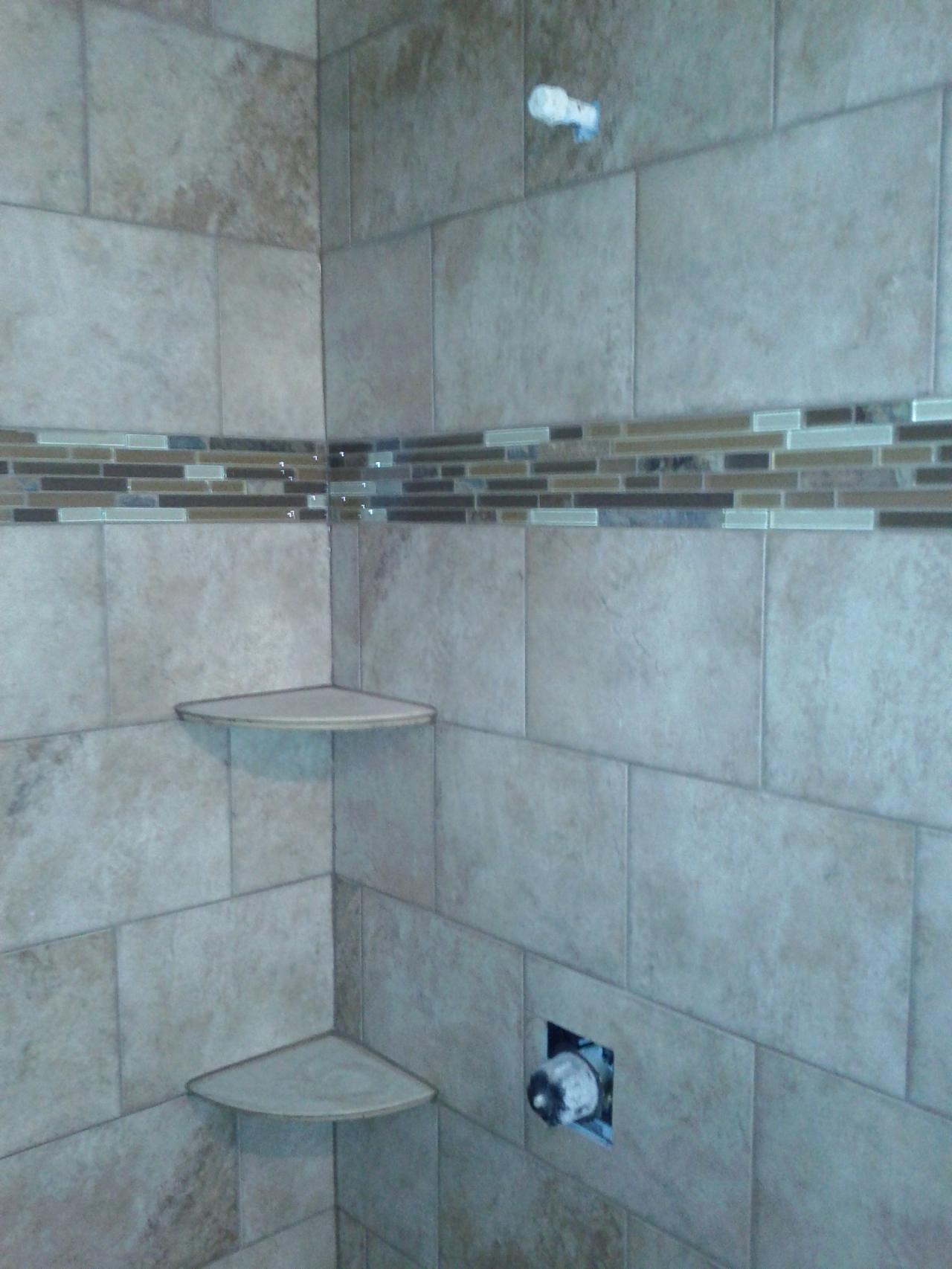 Bathroom Shower Color Ideas Endearing Shower Wall Tile Designs