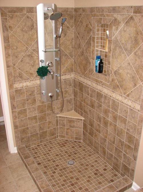 bathroom shower tile ideas interesting shower wall tile design