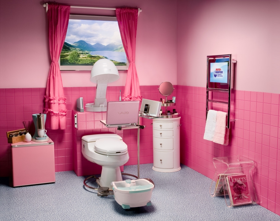 beautiful pink teenage bathroom design aquaplus girls awesome girls bathroom design