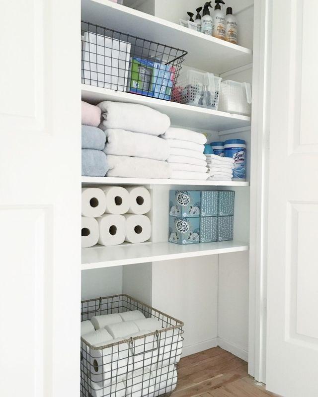 Best Ideas About Bathroom Closet Organization On Pinterest Modern Bathroom Closet Designs