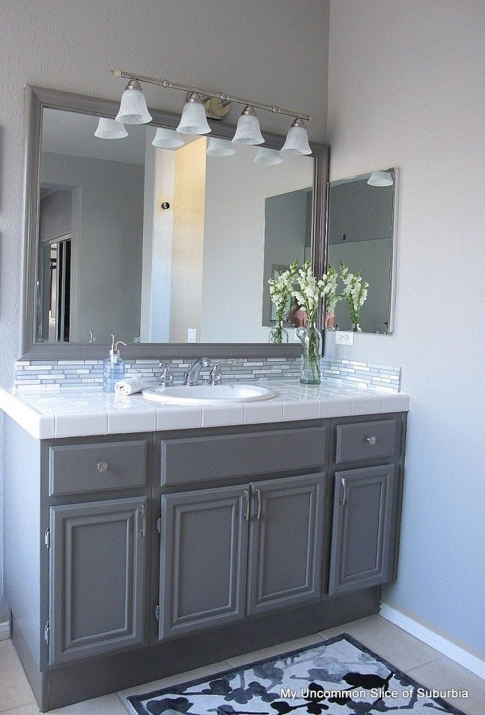 Best Images About Bath Backsplash Ideas On Pinterest Mosaic Impressive Bathroom Vanity Backsplash Ideas