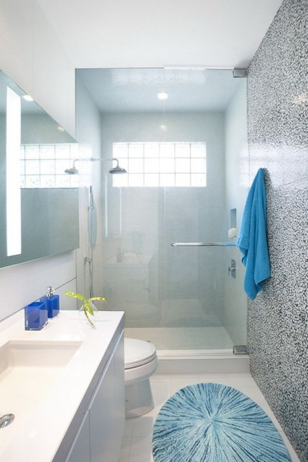 Best Small Bathroom Ideas Images On Pinterest Simple Rectangular Bathroom Designs