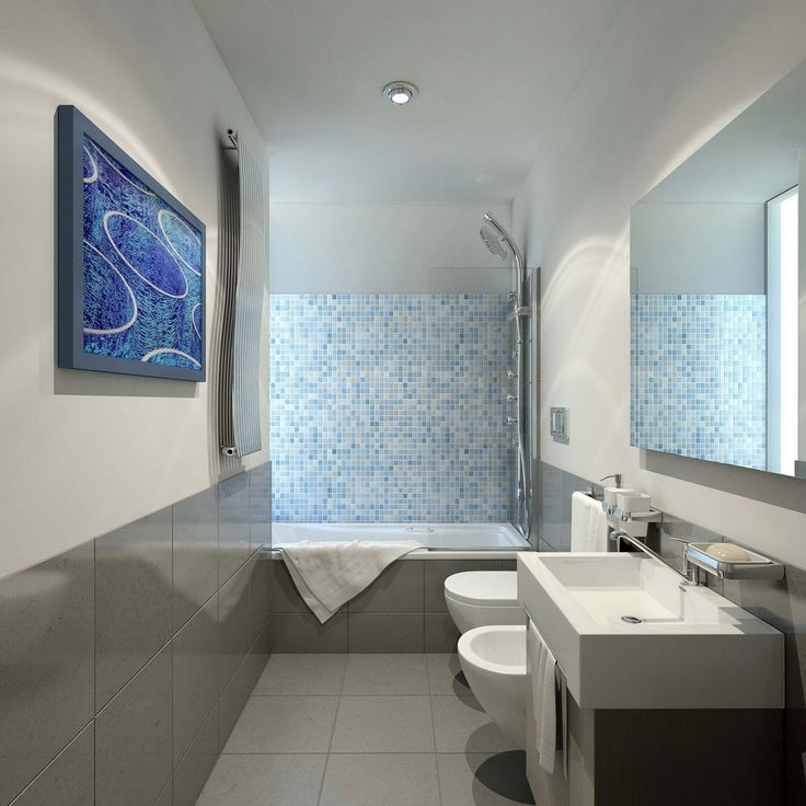 Best Small Bathroom Ideas Images On Pinterest Unique Rectangular Bathroom Designs