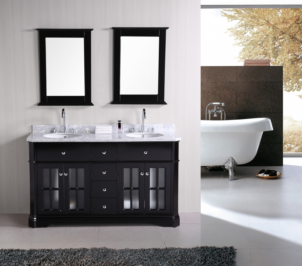Double Sink Bathroom Vanities Brilliant Small Bathroom