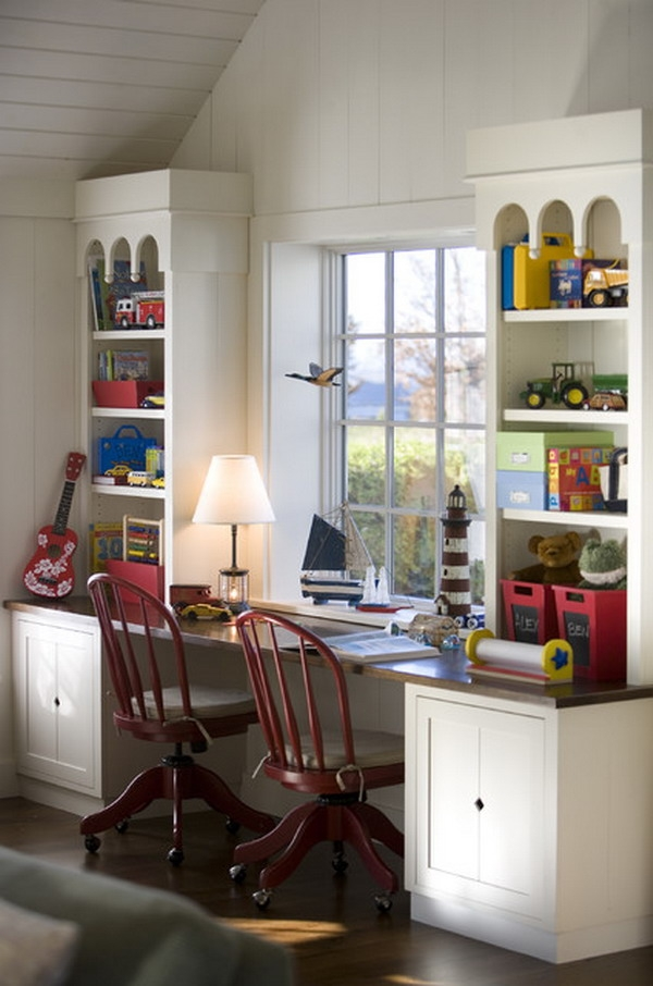 Kids Bedroom With Desk Cool Desk In Bedroom Ideas