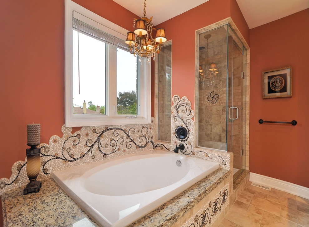 Mosaic Bathroom Ideas Designs Design Trends Premium Psd Inexpensive Mosaic Bathroom Designs