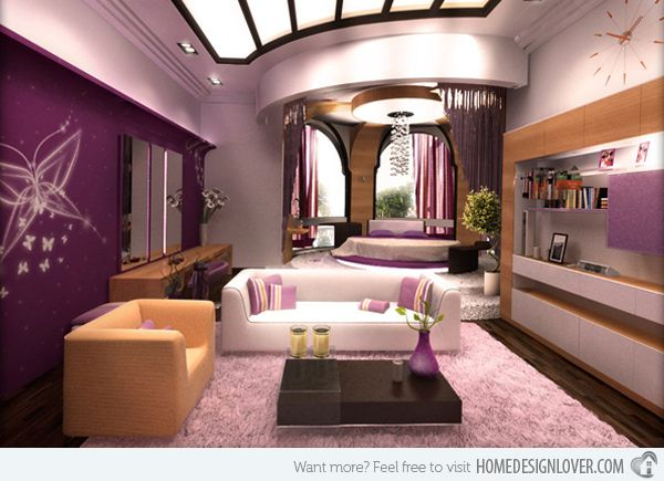Purple Bedroom Design Purple Simple Home Design Lover