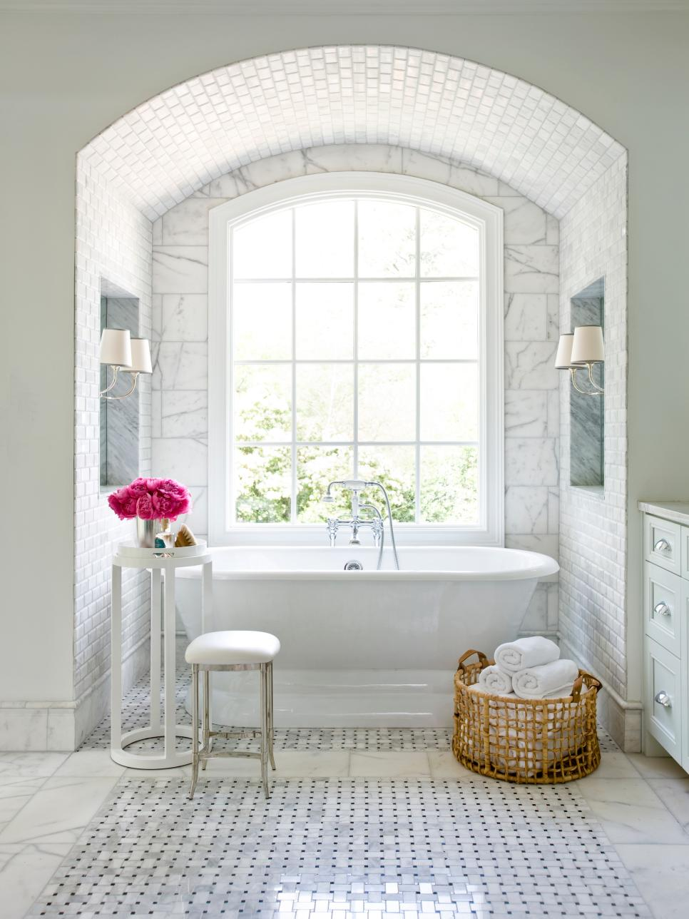 Simply Chic Bathroom Tile Beauteous Wall Tiles For Bathroom Designs