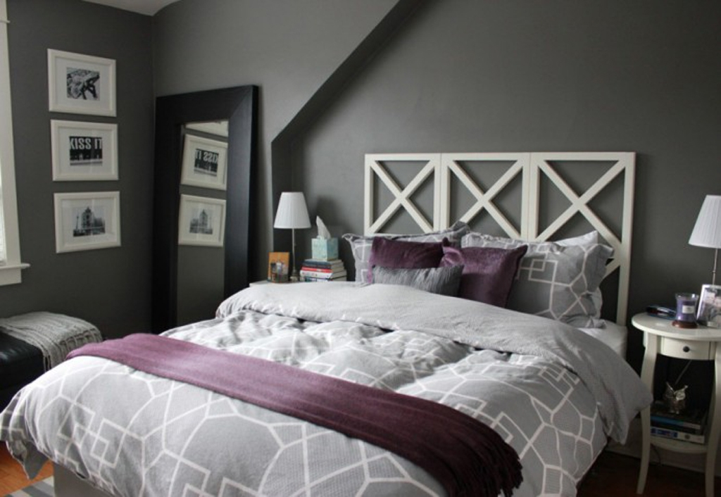 Stunning Gray And Purple Bedroom Ideas Purple Gray And Purple Inexpensive Bedroom Ideas With Purple