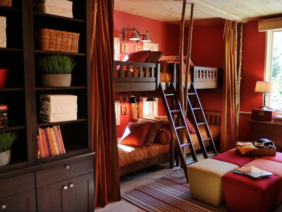 Stylish Window Treatment Ideas From Hgtv Dream Homes Hgtv Luxury Kids Interior Design Bedrooms