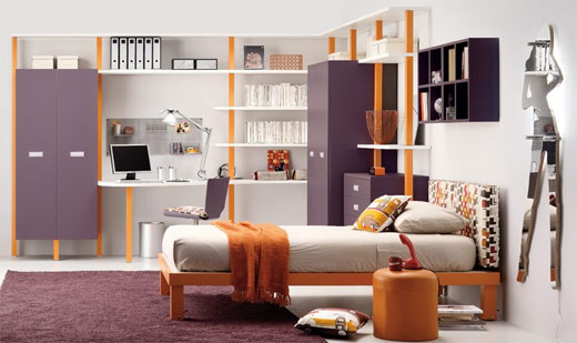 Teen Bedrooms Ideas For Alluring Bedroom For Teenager