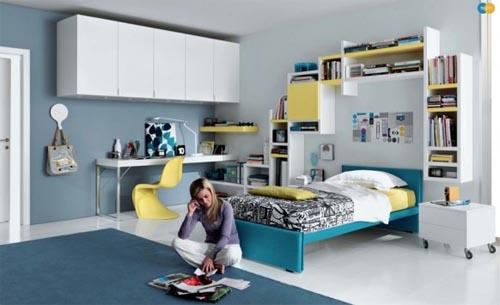 Teen Glamorous Bedroom For Teenager
