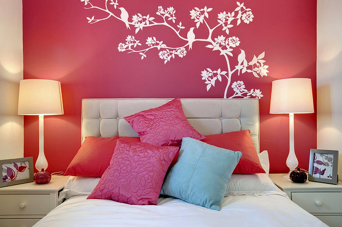 Teenage Girl Bedroom Wall Adorable Wall Designs For Girls Room