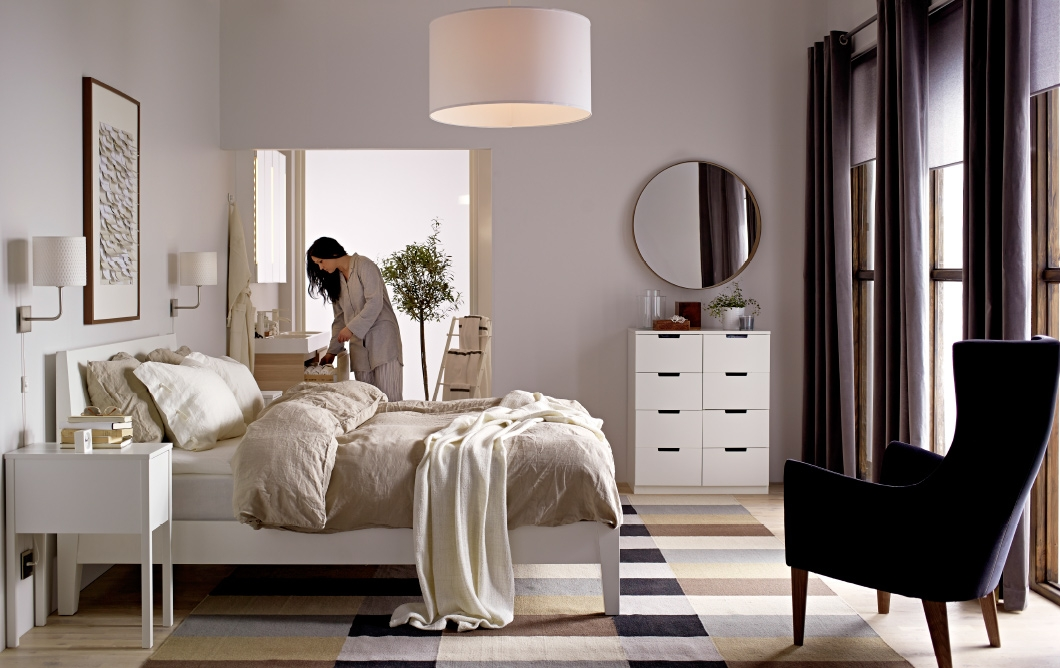The Bedroom Thats A Spa For Your Senses Classic Design Bedroom Ikea