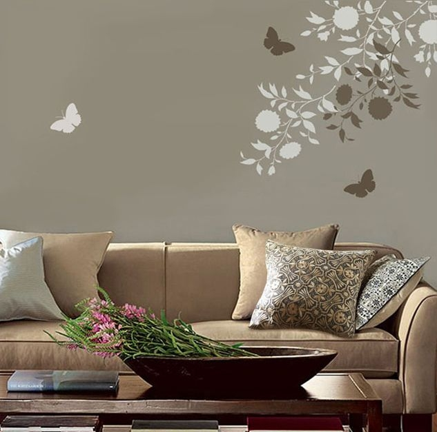 you can repeat to create an allover pattern stencil design and if classic bedroom stencil ideas