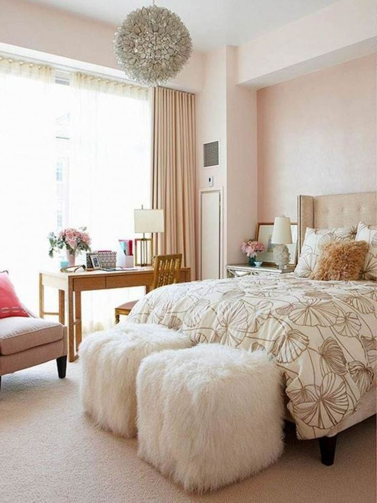 Young Woman Adorable Bedroom Ideas For Women