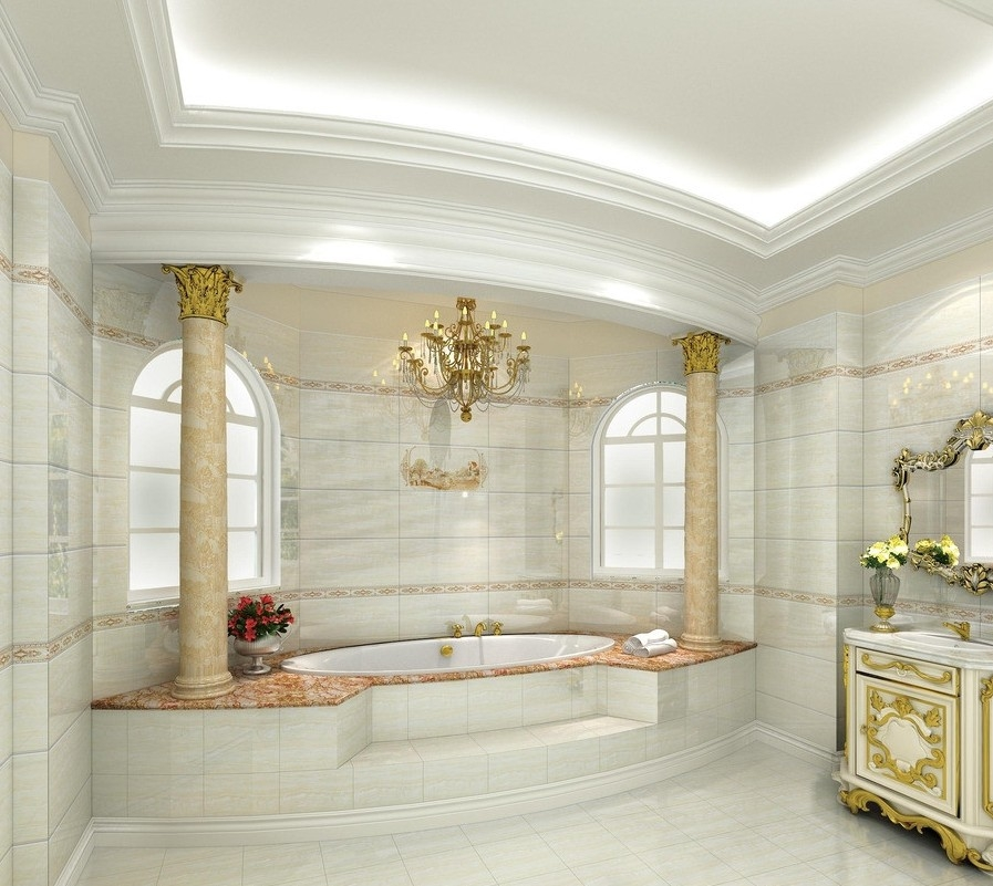 Interior D European Luxury Bathroom Design Rich Famous Best Bathroom Design D