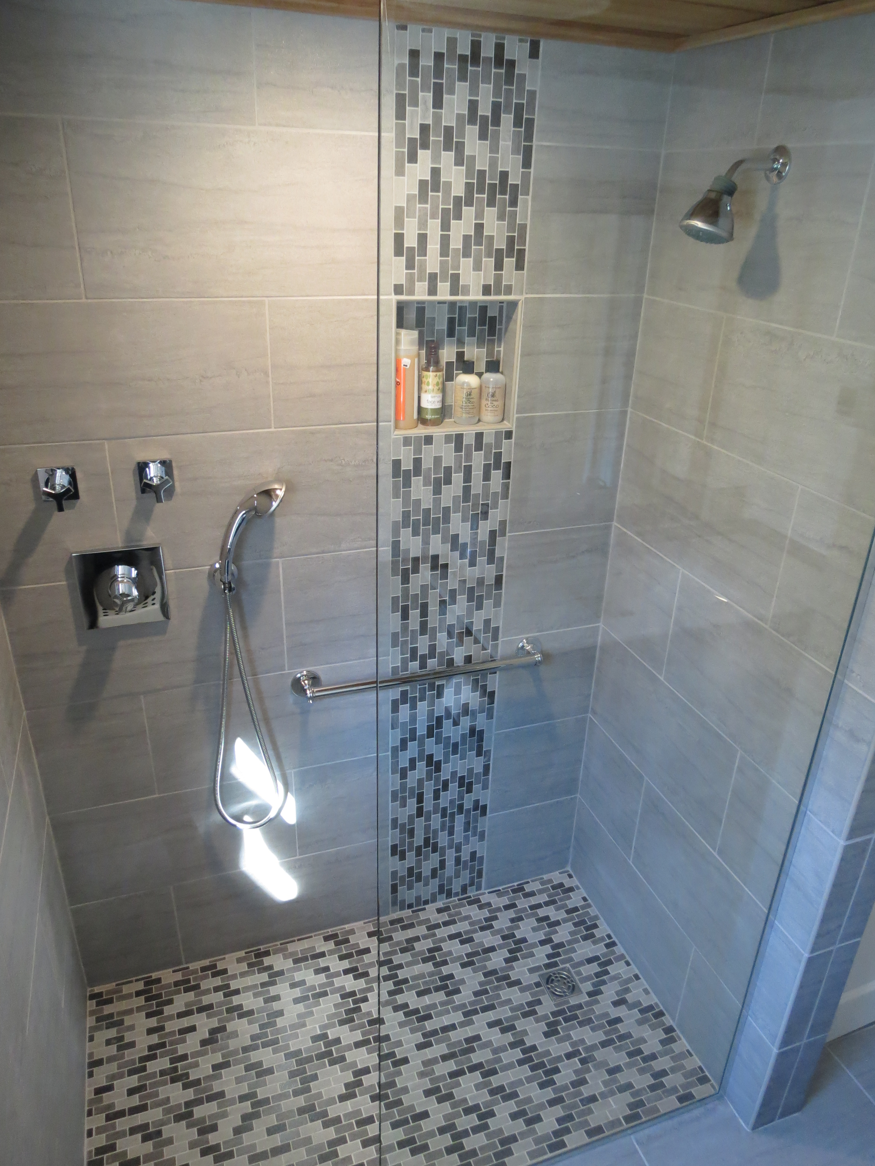 Modern Bathroom Shower Tile Cool Shower Wall Tile Designs