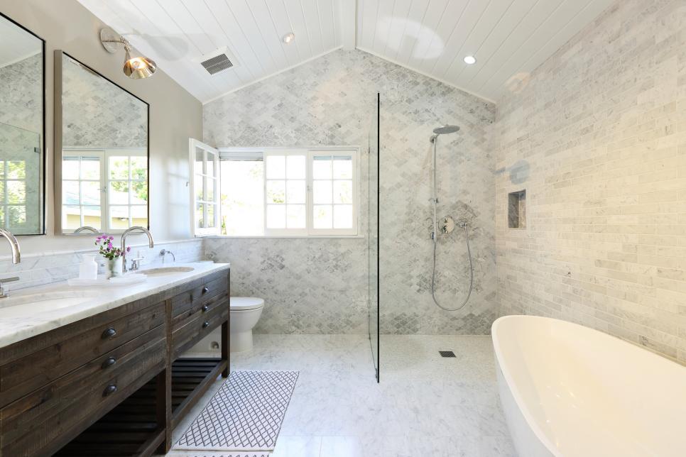Our Fave Designer Bathrooms Hgtv New Bathrooms Designer