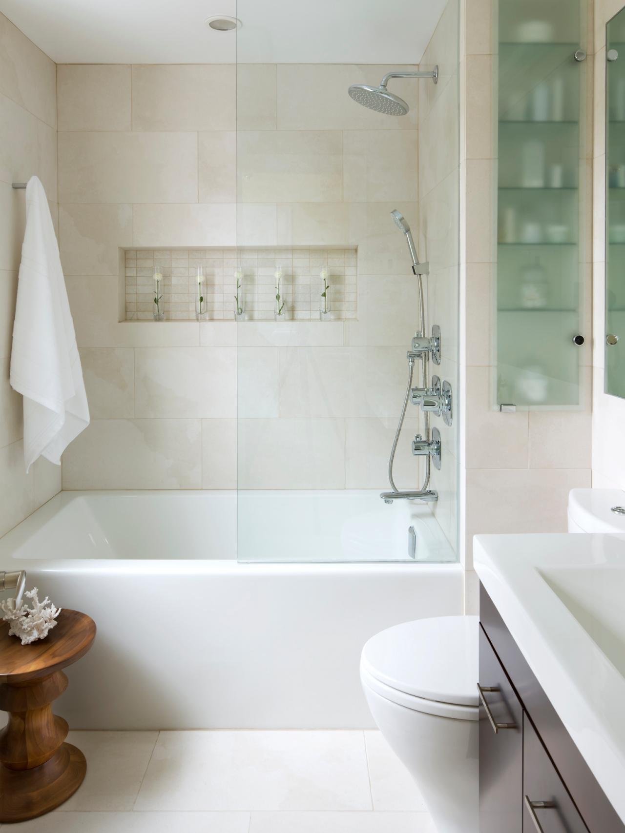 Small Bathroom Decorating Captivating Small Shower Room Ideas