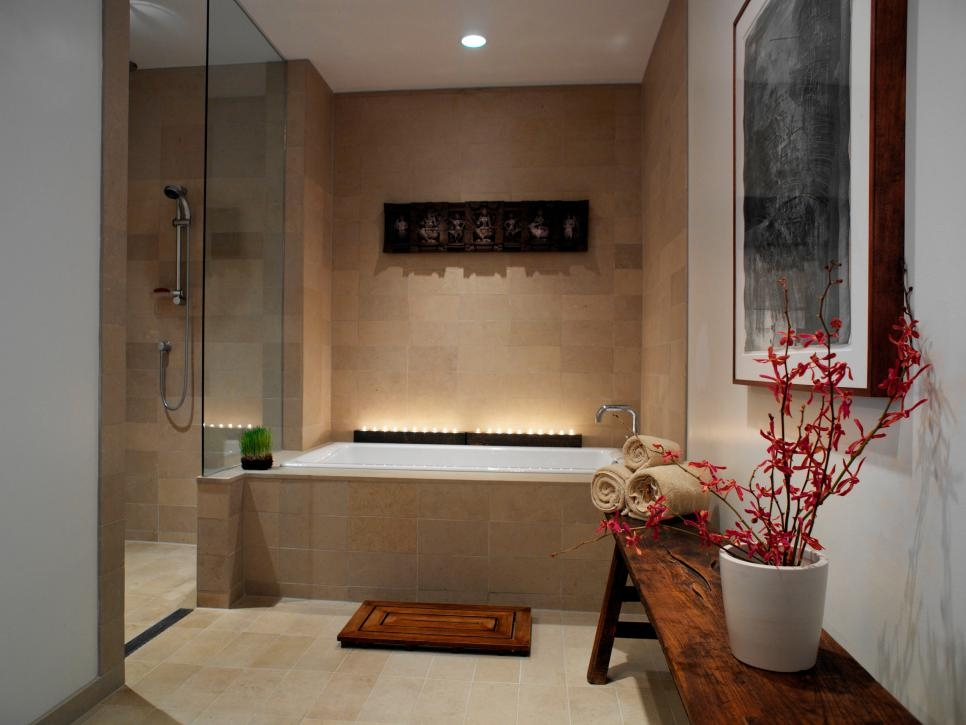 Spa Inspired Master Bathrooms Hgtv Beautiful Spa Bathroom Design Pictures