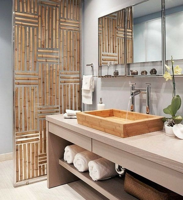 The Best Bamboo Bathroom Ideas On Pinterest Contemporary Bamboo Bathroom Design